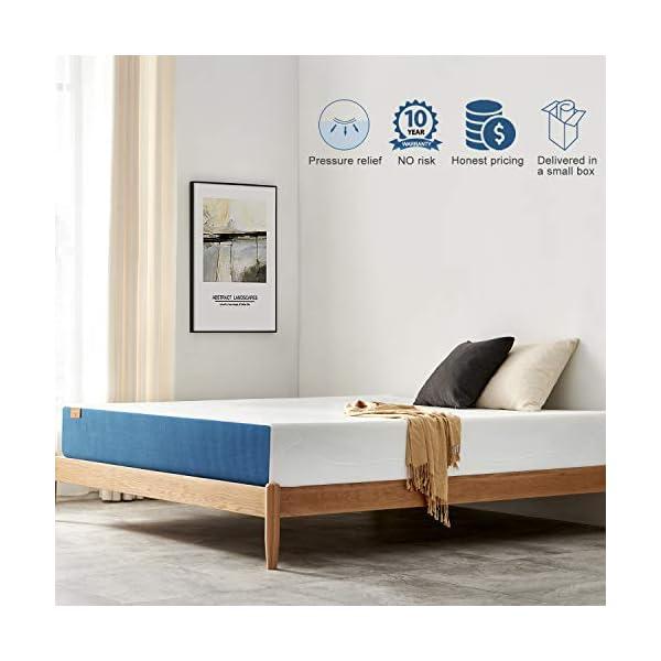 Jingxun Twin Full Queen King Mattress Premium Gel Multi Layered Memory Foam Bed Mattress...
