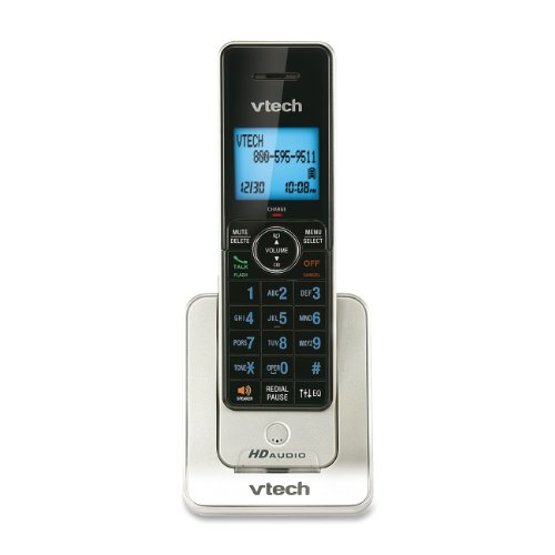 Vtech Teléfono inalámbrico DECT 6.0, Plata/Negro (VTELS6405)