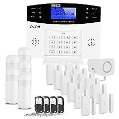 D1D9 Home-GSM system alarmowy bezprzewodowy odstraszający włamywaczy dla bezpieczeństwa w domu