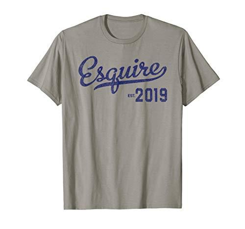 Esquire 2019 T-Shirt Lawyer Graduation Gift