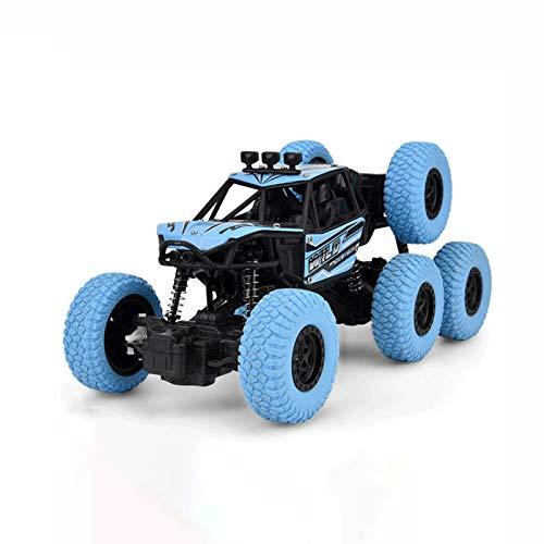 YANDFXSOP 6WD Remoto Control Car Tierra de Alta Velocidad Drift Off-Road Vehicle Racing RC Coche Monstruo Monstruo Hobby Truck 2.4GHz Escalada Buggy Coche para Adultos Niños Regalos de cumpleaños