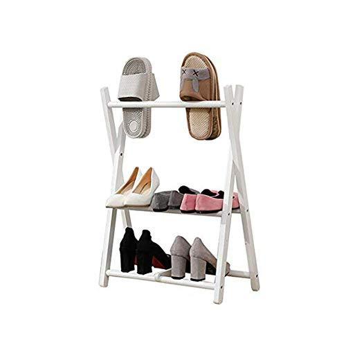 HHTX Estante para Sujetar el Estante Estante para Zapatos Armario Organizador de Zapatos Estante para Zapatos Caja para Zapatos Estante de Almacenamiento de 2 Capas Adecuado para el Dormitorio Pa
