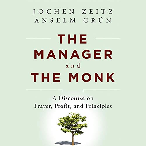 The Manager and the Monk audiobook cover art