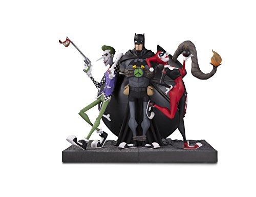 DC Comics APR170469 - Sujetalibros de galería y Harley Quinn