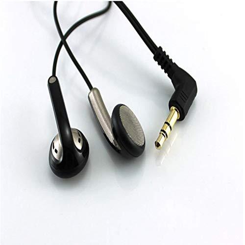 MLIU Originele Hifi Headset In Ear koptelefoon 3,5 mm platte kop oordopjes Dynamic Oordopjes Met optionele plug Type (Color : L Bending plug)
