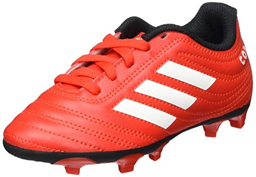 adidas Boys Copa 20.4 (FG) Football Shoe, Active Red/Footwear White/Core Black, 31 EU