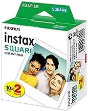 Fujifilm- Película instant instax (square ww 2, 2x10 fotos) multicolor