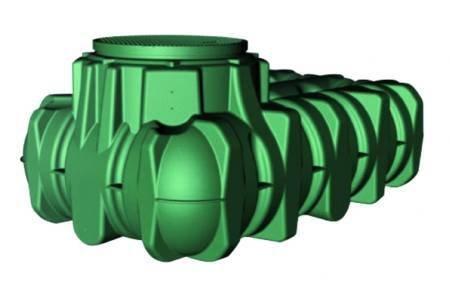 Graf M256755 - Deposito Agua enterrado Lilo 3000 l