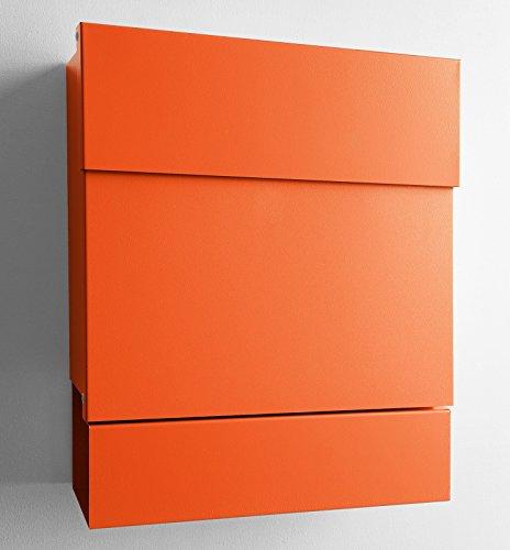 Radius Briefkasten Letterman 5 Orange mit Zeitungsrolle - 561 a