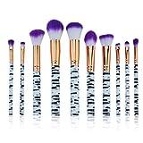 Dosige Pincel de Maquillaje cosmética Cepillo Set Herramientas 10PCS