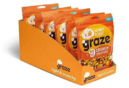 Graze Honey Roast Crunch Creations (Pack of 6)