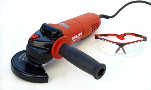 Hilti 00382594 DAG 500-D 5-Inch High Performance Angle Grinder Kit with Dead-Man Switch