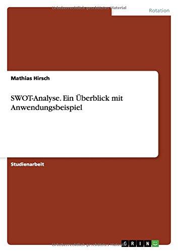 SWOT-Analyse. Ein Überblick mit Anwendungsbeispiel