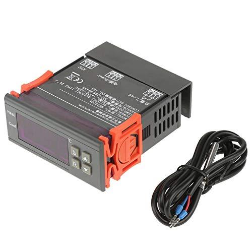 MH1210A Mini termostato digital LED Control de calor y frío - Controlador de temperatura digital 40~120 con sonda de sensor (DC12V)(DC24V)