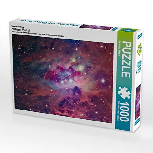 CALVENDO Puzzle Farbiges Weltall 1000 Teile Lege-Größe 64 x 48 cm Foto-Puzzle Bild von Reinhold Wittich