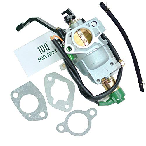 1UQ Manual Choke Carburetor Carb for Champion Power CPE 41430 420CC 7500 9375 Watt Gas Generator