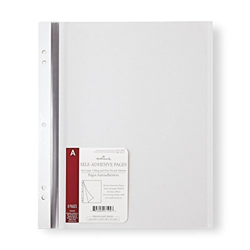 Hallmark Large Self-Adhesive Refill Pages Photo Albums
