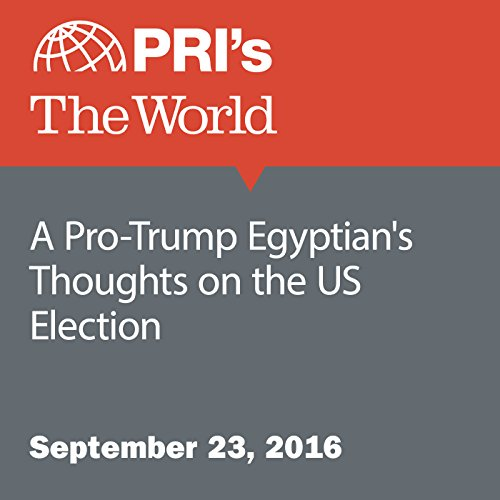 A Pro-Trump Egyptian's Thoughts on the US Election audiobook cover art