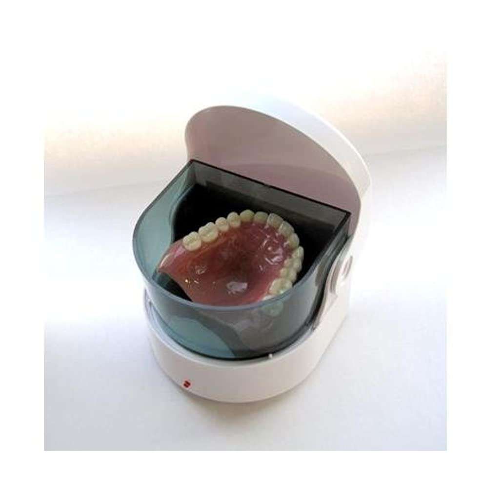 いくつかの懐疑論ペットヤザワ 入れ歯洗浄器 SLV01WH