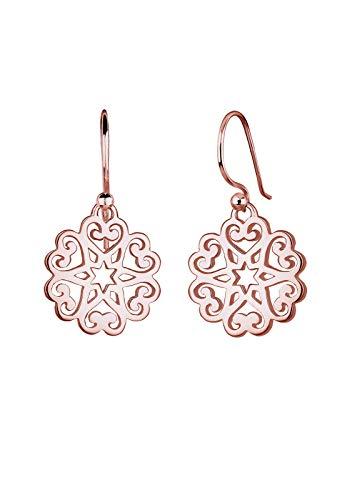 Elli Ohrringe Ornament Herz Sterne Floral 925 Sterling Silber