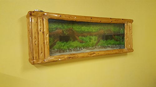 Wandaquarium-Frame Forest Wood 180, Panorama Aquarium - Wall Aquarium