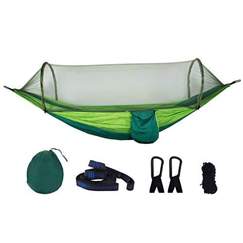 XHLLX Hamaca al Aire Libre Cama Colgando Nylon Viaje Camping al Aire Libre Hamaca 210t con mosquitera para Viajes de Camping