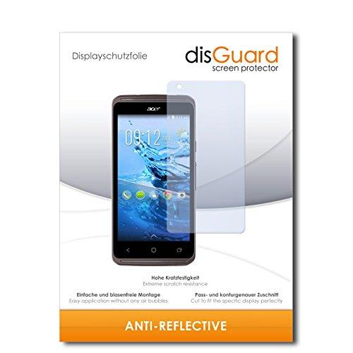 disGuard® Bildschirmschutzfolie [Anti-Reflex] kompatibel mit Acer Liquid Z410 Plus [4 Stück] Entspiegelnd, Matt, Antireflektierend, Extrem Kratzfest, Anti-Fingerabdruck - Panzerglas Folie, Schutzfolie