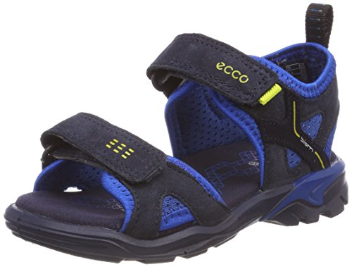 ECCO Unisex-Kinder Biom Raft Peeptoe Sandalen, Blau (Night Sky/Bermuda Blue/Night Sky), 25 EU