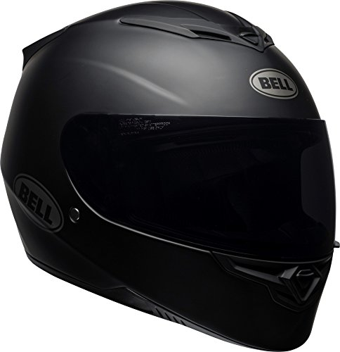 Bell RS2 Full-Face Motorcycle Helmet (Solid Matte Black, X-Large)