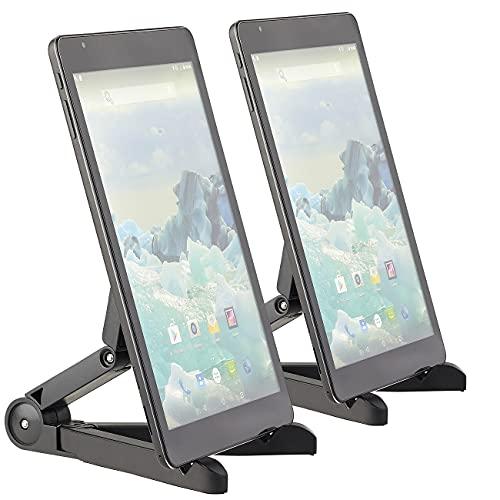 PEARL Tablethalter: 2er-Set Faltbare Tablet-Ständer für Tablet, Tablet-PC, E-Book-Reader (Faltbarer Tabletständer)