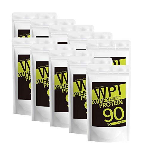 LOHAStyle (ロハスタイル) WPI ホエイプロテイン プレーン ((10kg (1kg×10袋)) 約300食分) アミノ酸スコア100 (人工甘味料 添加物不使用)