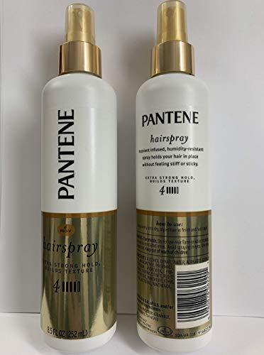 Pantene Pro-V Style Series - Non-Aerosol Hairspray - Extra Strong Hold (4) - Net Wt. 8.5 FL OZ (252 mL) Per Bottle - Pack of 2 Bottles