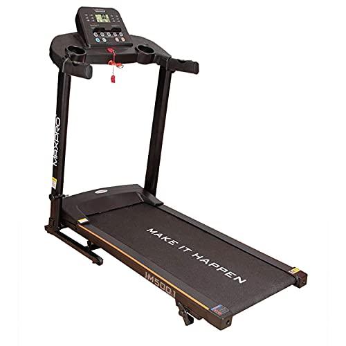 MAXPRO IM5001 3HP Peak Motorized Folding Treadmill with...