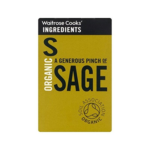 Cooks' Ingredients Organic Max lowest price 72% OFF Sage Waitrose Pack - 4 of 11g