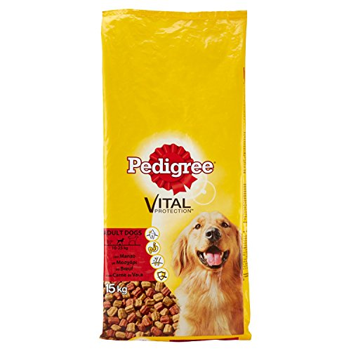 Pedigree Hunde Alleinfuttermittel Trockenfutter Complete Adult, 15 kg