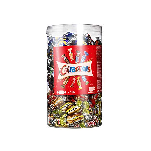 Celebrations - Assortimento di cioccolatini, 155 praline in una scatola da 1435 g