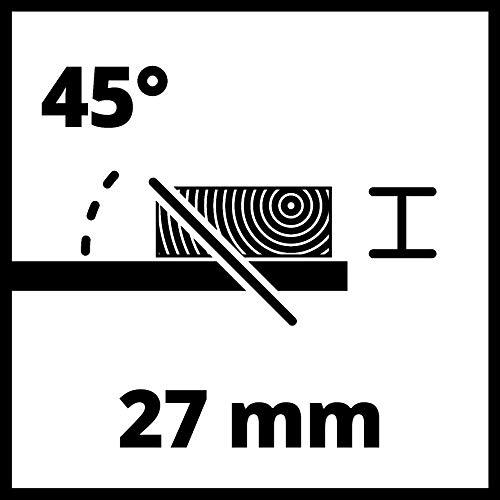 Einhell Scie circulaire sur table TC-TS 200 (lame de scie inclinable, butée d'angle (+/- 60°), butée parallèle dotée d'un dispositif de blocage des deux côtés