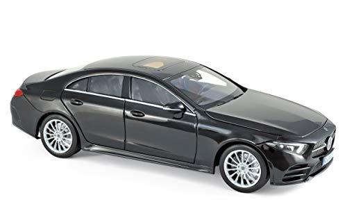Outletdelocio Norev 183592. Coche Mercedes Benz Clase CLS 2018 Negro. Escala 1/18. Metalico