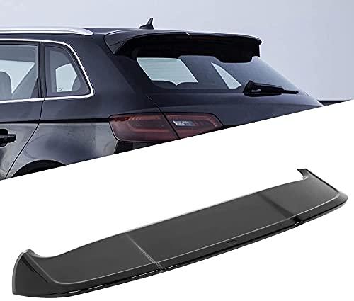 Siyse Alerón de Techo Trasero de Coche, Negro Brillante para ala de extensión de Estilo RS3 Apto para A3 8V Sportback 5 Puertas 2013-2020 Estilo de Coche