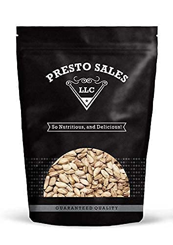 Pistachios, Turkish Colossal Antep, Roasted Salted, Vegan Free, Sugar Free, Healthy Snack, Nutritional, Low-Calorie, Flavorful, Packed in a 5 lbs. (80 oz.) resealable pouch bag by Presto Sales