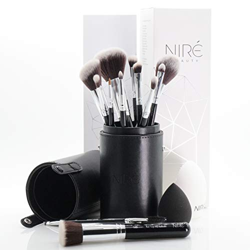 Niré Beauty Professionell Makeup Pinsel Set: Professionell Kosmetikpinsel für Real Techniques...