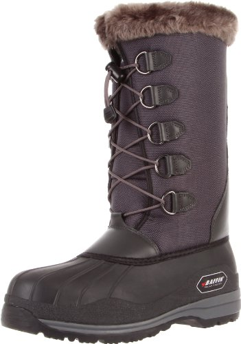 Baffin Women's Resolute Snow Boot,Charcoal,10 M US