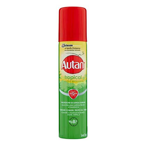 Autan Tropical Spray Insetto Repellente, 100ml