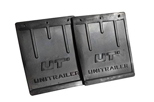 UNITRAILER Spritzlappen-Set groß für PKW-Anhänger, für 13''- und 14''-Kotflügel