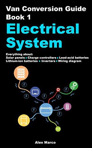 camper van wiring diagram amazon com van conversion guide electrical system solar panels vw camper van wiring diagram van conversion guide electrical system