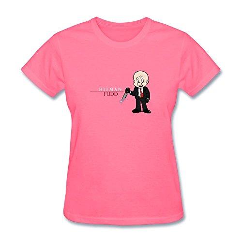 kettyny mujeres de Elmer Fudd diseño algodón T Shirt