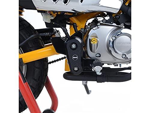 Kit Protection de Cadre R&G Racing Noir (2 pièces) Honda Monkey