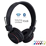 Kids Bluetooth Headphones Foldable Volume Limiting Wireless/Wired...