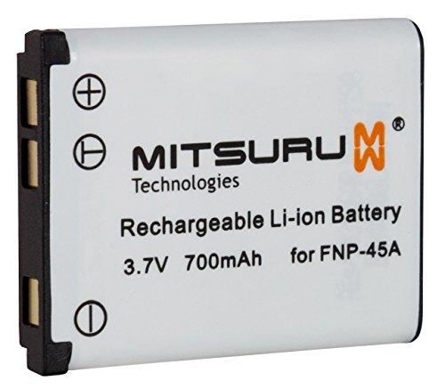 2x Batteria 3,7V 700mAh NP-45 per Fujifilm Finepix JV100,JV150,JV200,JV205,JV250