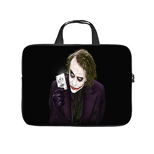 Universal Laptop Computer Tablet,Bag,Cover for,Apple/MacBook/HP/Acer/Asus/Dell/Lenovo/Samsung,Laptop Sleeve,Joker Digital Art Looking at Viewer Cards,12inch